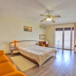 Крым Утес гостиница Парадиз Семейный двухкомнатный с видом на море с балконом