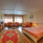 Крым Утес Гостиница Парадиз Семейный двухкомнатный номер с видом на море без балкона
