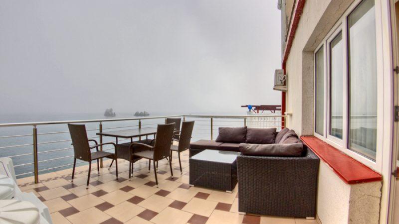 Крым Утес Гостиница Парадиз Апартаменты с панорамным видом на берегу моря